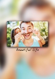 浪漫唯美的情侣qq皮肤   beautiful life